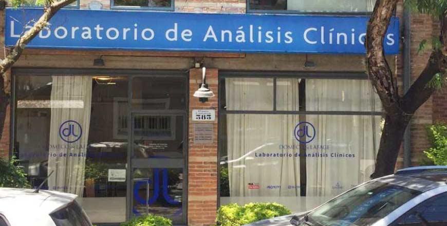 Laboratorio Domeq & Lafage sede Martínez