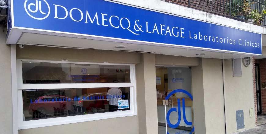 Laboratorio Domeq & Lafage sede Villa del Parque